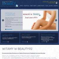 Instytut Urody Beauty92 to nowoczesny gabinet kosmetyczny z bardzo szerokim wachlarzem usług kosmetycznych i specjalistycznych. Oprócz zabiegów kosmetycznych, znajdziesz u nas zabiegi z zakresu laseroterapii, medycyny estetycznej, modelowania sylwetki i fizjoterapii. Nasza strefa relaksu umożliwia wykonanie masażu również dla dwóch osób jednocześnie. Serdecznie zapraszamy do zapoznania się z naszą ofertą.
