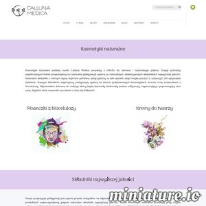Kosmetyki naturalne polskiej marki Calluna Medica - kremy i maseczki - wykonane są wyłącznie z naturalnych składników najwyższej jakości. Postaw na naturalną pielęgnację!