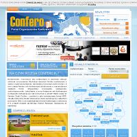 Confero.pl to kompleksowy portal internetowy prowadzony przez firmę Horizon Travel, polskiego lidera turystyki szkoleniowej. Confero.pl to kompendium wartościowych porad dla organizatorów konferencji zawierający niezbędne narzędzia typu system rezerwacji obiektów konferencyjnych i sal konferencyjnych. Oferta Confero skupia ponad półtora tysiąca usługodawców związanych z branżą turystyki biznesowej.