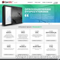 ConSEL – konsola dyspozytorska do radiotelefonów Motorola, umożliwiająca komunikację głosową, przesyłanie wiadomości tekstowych, rozpoznawanie alarmów, pozycjonowanie osób i pojazdów na mapie.