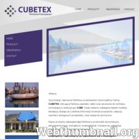 Wychodząc naprzeciw Państwa oczekiwaniom stworzyliśmy markę CUBETEX oferującą Państwu plandeki, siatki oraz akcesoria do montażu, wchodzącą w skład grupy CUBE. Dzięki takiemu zabiegowi będzie możliwy łatwiejszy dostęp do rzetelnej informacji na temat produktów, większy wachlarz dostępnych produktów, oraz wsparcie techniczne. Nasze produkty zabezpieczają Państwa w przemyśle stoczniowym, petrochemicznym, energetyce, budownictwie, transporcie, rolnictwie, magazynowaniu, gospodarce odpadowej. CUBETEX oferuje Państwu szeroki wachlarz możliwości dostępu do prac na wysokości i ochrony przed niekorzystnymi warunkami atmosferycznymi.
