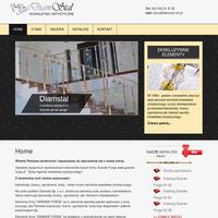 """Jesteśmy wyłącznym dystrybutorem elementów kutych firmy Grande Forge www.grande-forge.pl - Żywa legenda kowalstwa artystycznego! Z elementów tych można wykonywać: balustrady, bramy, ogrodzenia, kraty, i wiele innych wyrobów kowalstwa artystycznego. Na rynku polskim Diamstal Sp. z o.o. dostarcza elementy kute zarówno rzemieślnikom, którzy wykonują balustrady, bramy, ogrodzenia, jak i klientom indywidualnym. Elementy firmy """"GRANDE FORGE"""" są to elementy wysokiej jakości wykonane z dużą precyzją, aby Państwa balustrady, bramy, ogrodzenia, kraty były długotrwałe i pięknie prezentujące się. Elementy firmy """"GRANDE FORGE"""" są dostępne u dystrybutorów na całym świecie."""