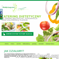 Dietering.com to firma z wieloletnim doświadczeniem zajmująca się dowozem diety do klienta. Naszym głównym terytorium jest Łódź, Częstochowa, Wrocław oraz inne mniejsze miasteczka. Dostarczamy catering dietetyczny w postaci 5 sytych posiłków zróżnicowanych pod względem kalorii oraz składników z których są przyrządzone. Oferujemy pomoc naszych specjalistów z dziedziny dietetyki, którzy indywidualnie na potrzeby klienta stworzą odpowiednią dla organizmu dietę. Nasz catering dietetyczny to idealne rozwiązanie dla osób cierpiących na nadwagę, którzy w zdrowy i bezpieczny sposób chcieliby schudnąć. Proponujemy także dietę właściwą dla osób z niedowagą oraz aktywnych fizycznie.