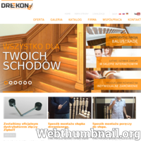 Firma Drekon produkuje wyroby drewniane (głownie balustrady drewniane) już ponad 20 lat. Początkowo produkcja opierała się na produkcji tralek oraz nóg drewnianych, jak również innych, drewnianych elementów. Z czasem oferta firmy została zwiększona o dodatkowe artykuły, dzięki czemu spektrum usług znacznie pełniej może spełniać oczekiwania kontrahenta.   Najistotniejszym elementem działalności firmy jest produkcja tralek. Specjalizacja w tym temacie pozwoliła na poprawienie technologi wytwarzania, dzięki czemu jakość wytwarzanych towarów bardzo się ulepszyła. Nie bez znaczenia jest także fakt, że w przedsiębiorstwie pracują wysoko wykwalifikowani pracownicy, na najwyższej jakości materiałach produkcyjnych (świerkowych, bukowych, jak również sosnowych). Zaawansowany park maszynowy pozwala na wykonanie nawet najtrudniejszych projektów dla wymagających kontrahentów takich jak: nogi drewniane czy tralki.