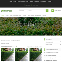 Nasz sklep internetowy e-szmaragd zajmuje się sprzedażą rośliny na żywopłot na terenie całego kraju.Posiadamy odpowiednie krzewy przygotowane do wysyłki.