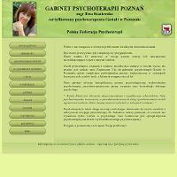 Profesjonalna psychoterapia Poznań oraz psycholog Poznań to świadczenia przeprowadzane przez Gestalt - gabinet psychologiczny Poznań. Każdego rodzaju psychoterapeuta jak również psycholog tam działający, to dobry psychoterapeuta i dobry psycholog. Mają oni konieczne umiejętności jak i doświadczenie. Zajęcia indywidualne lub też warsztaty w grupie proponowane w gabinecie psychologicznym Gestat, zapewniają skuteczną pomoc.