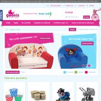 Ważne jest, by bujaki dla dzieci, sofy dla dzieci bądź też pojemniki na zabawki prócz funkcjonalności, zapewniały dzieciom pełne bezpieczeństwo. Dlatego też każdy opiekun, który zamierza kupić bujaki dla dzieci bądź też wózki spacerowe, niezwykle kluczową rolę przywiązuje do jakości wybieranych artykułów. Propozycja sklepu w Internecie Goonis.pl daje możliwość takim rodzicom wybierać wyłącznie z niezwykle dobrej klasy sortymentu. Proponowane w sklepie spacerówki czy też wózki wielofunkcyjne spełnią życzenia nawet wyjątkowo wymagających klientów. ./_thumb/www.goonis.pl.png