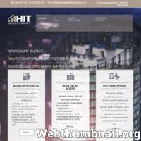 Nasza firma Hit Investment mieszcząca się w samym centrum Wrocławia oferuje różne usługi związane z prowadzeniem własnej firmy, tj: pomoc przy zakładaniu nowych spółek zarówno krajowych jak i zagranicznych, a dla tych Państwa, którzy gotowi są przejąć funkcjonującą na rynku spółkę, oferujemy spółki, przygotowane do przejęcia i dalszego prowadzenia zgodnie z własnym założeniem. Szczegółowa oferta zawarta jest na stronie www, do jej zapoznania serdecznie zapraszamy.  ./_thumb/www.gotowespolkiwroclaw.pl.png