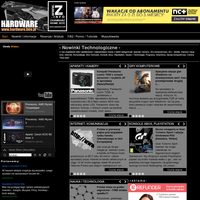 Serwis dobrych newsów, recenzji i testów sprzętu elektronicznego, komputerowego, gier.