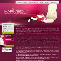Adresatami oferty handlowej firmy Harmedy są gabinety odnowy biologicznej czy klienci prywatni troszczący się o własne samopoczucie. Harmedy zajmuje się sprzedażą urządzeń do masażu o potwierdzonej naukowo skuteczności stosowania. Asortyment zawiera duży wybór produktów z dziedziny poduszka masująca, mata do masażu rehabilitacyjnego czy okulary masujące polepszające komfort widzenia. Biuro Obsługi Klienta Harmedy zaprasza: nr tel. 614 476 698. ./_thumb/www.harmedy.eu.png