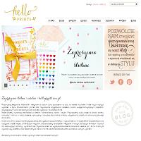 Dystrybutor Hello! Prints powstał z uwzględnieniem klientów spragnionych estetycznych i dobrych materiałowo produktów służących w charakterze zaproszenia na różnorodne okazje. Przede wszystkim kartki na wesele są artykułami szukającymi zbyt w całej Polsce. Oryginalne wzornictwo w powiązaniu z dobrym kartonem daje szansę na uzyskanie rezultatu, jaki zadowoli nie tylko wręczających jak i obdarowywanych. Filizofią firmy Hello! Prints jest wytwarzanie użytkownikom kreatywnych i ślicznych zaproszeń uświetniających określone wydarzenia. Wszystkie zaproszenia obecne w sklepie internetowym to osobiste koncepty ich projektantów.
