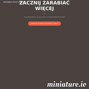 Witam na mojej wizytówce internetowej. Siedziba firmy Internica znajduje się w Lublinie. Zajmuję się prowadzeniem kampanii reklamowych w sieci wyszukiwania Google Ads (Adwords) oraz Facebook Ads. Prowadzę kampanię search, display, produktowe oraz YouTube. Odwiedź moją stronę internetową i przekonaj się sam.
