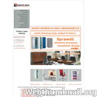 Zapraszamy do zapoznania się z naszą ofertą na rewelacyjne meble ze stali nierdzewnej, które spełnią się w każdym gabinecie, laboratorium, pomieszczeniu socjalnych czy biurowym. ./_thumb/www.inventivegroup.pl.png