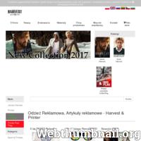 Wyłączny dystrybutor odzieży reklamowej Harvest & Printer. Kompleksowa oferta, w tym znakowanie, już od 1 szt, skierowana wyłącznie do Agencji Reklamowych.  ./_thumb/www.james-harvest.pl.png