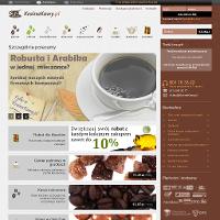 Swoje produkty proponuje sklep online krainakawy.pl. Swoją ofertę kierujemy zwłaszcza do tych, którzy chcą odkryć oryginalny smak kawy i herbaty. Dla osób mających problemy zdrowotne polecamy w szczególności kawę bezkofeinową Arabica Kolumbia Decaf. Posiada ona łagodny, kwaskowaty smak. Dzięki temu, że usunięto z niej kofeinę, można ją pić również wieczorem przed snem. Istnieje możliwość zamówienia indywidualnego stopnia palenia kawy.