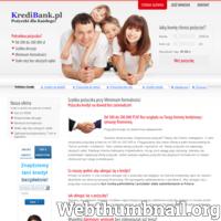 Kredyt gotówkowy dla każdego przez internet! -od 100 do 200.000zł -bez zaświadczeń -decyzja w 15 min -bogaty wybór kredytowy -sam ustalasz wysokość i termin spłaty Sprawdzony kredyt tylko na http://www.kredibank.pl