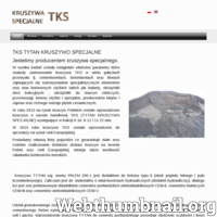 Tytan Kruszywa Specjalne TKS Żarki Titanium Aggregate