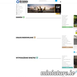 Portal Budowlany Liderbudowlany.pl zawiera artykuły z branży budownictwa oraz katalog firm branżowych.