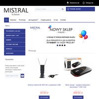 Mistral - Producent elektroniki - Telewizory samochodowe 12V-24V, anteny samochodowe, DVB-T, DVB-T2, DVB-S, rejestratory samochodowe, kamery, konsole, akcesoria i in