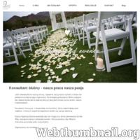 Komplesowa organizacja ślubów i wesel, śluby w plenerze, konsultacje ślubne, business event I M&J Wedding and Events ./_thumb/www.mjwedding.pl.png