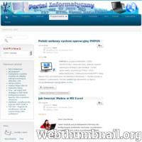 Portal informatyczny dla informatyków, porady, kursy, skrypty, programy, C++ i algorytmy, budowa stron www,  webmaster, programowanie, forum, tutorial, tablice informatyczne, kody do programów, html, css3, php, vba, java ./_thumb/www.pcrobotech.pl.png