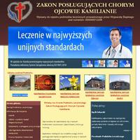 Strona Podmiotu Leczniczego Zakonu Ojców Kamilianów w Tarnowskich Górach.