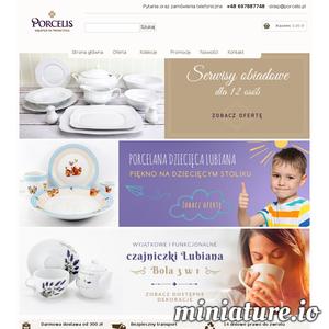 Niezmiernie miło jest nam gościć Państwa w sklepie Porcelis.pl. Nasza oferta zawiera szeroką gamę serwisów obiadowych i kawowych firmy Chodzież. Oferujemy kolekcje porcelany zarówno tradycyjne, nowoczesne jak i codziennego użytku. W porcelis.pl możecie Państwo kupić najwyższej jakości serwisy obiadowe, garnitury do kawy jak również zestawy obiadowow kawowe w atrakcyjnych cenach.  Dzięki ścisłej współpracy z producentem, oferujemy wyłącznie oryginalne produkty po konkurencyjnych cenach. Dbamy o wysoki standard obsługi klienta, dzięki czemu zakupy w sklepie Porcelis.pl spełnią Państwa oczekiwania. Oferujemy wyłącznie najwyższej jakości produkty firmy Chodzież.