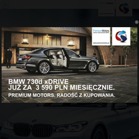 Premium Motors to używane BMW na gwarancji. Salon zajmuje się sprzedażą rocznych samochodów marki BMW. Siedziba mieści się w Gdańsku, Trójmiasto.