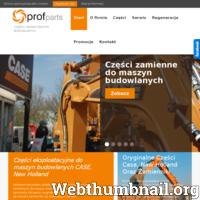 PROFPARTS to firma z kilkuletnim doświadczeniem na rynku Polskim. Głównym kierunkiem działalności firmy jest sprzedaż części zamiennych i materiałów eksploatacyjnych do maszyn budowlanych marki CASE, NEW HOLLAND. Ponadto zajmujemy się świadczeniem usług serwisowych oraz doradztwem technicznym.  PROFPARTS wie jak ważną rolę odgrywa zaufanie i zadowolenie Klientów dlatego też od samego początku swojej działalności stawia na profesjonalną obsługę w szerokim tego słowa znaczeniu. Wybierając Nas możesz liczyć na zespół profesjonalnych handlowców posiadających duże doświadczenie oraz wiedzę techniczną dotyczącą maszyn budowlanych. Staramy się, aby nasze oferty były precyzyjnie dostosowane do potrzeb Klienta. Świadczenie usług o najwyższej jakości to fundament działania firmy PROFPARTS.