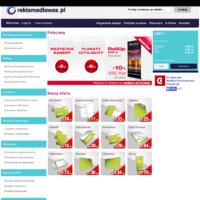 Sklep internetowy reklamadlawas.pl daje możliwość zamówienia różnorodnych produktów z grupy POS, m.in. ścianki wystawiennicze-łukowe i proste, roll upy, X-banery, L-banery, potykacze, stelaże wielkoformatowe, stojaki banerowe, stojaki plakatowe, ulotki reklamowe, plakaty A4,A3, plakaty wielkoformatowe, citylighty, banery, naklejki/etykiety, naklejki magnetyczne, naklejki podłogowe,chorągiewki papierowe, zaproszenia. Niskie ceny. Szybka dostawa. Zamówienia 24h.