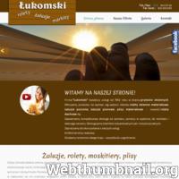 Firma Łukomski działa na terenie Łodzi i okolic. Oferujemy: żaluzje poziome i pionowe, rolety materiałowe, żaluzje drewniane, moskitiery, plisy.
