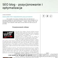 Blog o pozycjonowaniu i optymalizacji stron internetowych metodą White Hat SEO. Poradnik dla początkujących SEO-maniaków od podstaw, krok po kroku. Blog o SEO także dla początkujących,Ecommerce.
