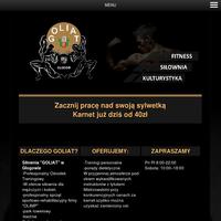 Siłownia Goliat w Głogowie, Karnet już dziś od 40zł. Przyjdź na pierwszy trening na siłownię za darmo, Zapraszamy ulica Cypriana Kamila Norwida 1 Głogów.