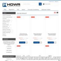 Firma HDWR od 5 lat zajmuję się sprzedażą czytników kodów kreskowych w Polsce i Europie. W swjojej ofercie posiadamy sprzęt taki jak: czytniki kodów kreskowych (przewodowe, bezprzewodowe, stacjonarne, wielokierunkowe oraz wielowymiarowe), kolektory danych, terminale, drukarki etykiet, drukarki kart oraz inne. Nasze produkty są w konkurencyjnych cenach. Zapraszamy do współpracy, a dla zainteresowanych oferujemy również wypożyczenie sprzętu na 7 dniowe testy. https://sklep.hdwr.pl/pl/i/Czytniki-na-testy/37 Zapraszamy.