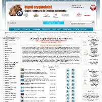 Oferta rozwiązań przedsiębiorstwa Sklep.szpot.pl Wysokiej Jakości Akcesoria Samochodowe, regionalnego potentata na rynku dystrybucji znakomitych, najnowocześniejszych artykułów wymiennikowych do samochodów mieści w sobie części opel Vectra, Corsa bądź Astra w nadzwyczajnie korzystnej, niespotykanej u konkurencji cenie. Jak podajemy na własnej branżowej stronie webowej Sklep.szpot.pl, mieszczącej się po krótkim kliknięciu w pod wskazany odnośnik sieciowy, oferujemy na potrzeby stałych współpracowników kompleksowe dobranie idealnych części do opla, oraz motoryzacyjnych podzespołów zamiennikowych do Saab bądź pojazdów produkcji Chevrolet. Gorąco zapraszamy każdego do e-sklepu, gratulując udanych zamówień. ./_thumb/www.sklep.szpot.pl.png