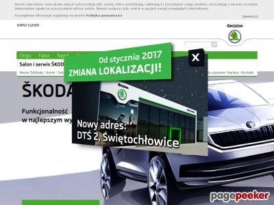 SKODA Porsche Katowice - autoryzowany salon i serwis marki Skoda w Katowicach. Aktualne cenniki, samochody nowe i używane, promocje, dane techniczne, prezentacje modeli, nowości ze świata Skoda na Śląsku! ./_thumb/www.skodakatowice.pl.png