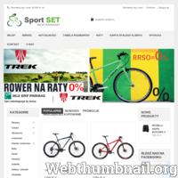 Sklep rowerowy Sport SET, jak sama nazwa wskazuje, zajmuje się przede wszystkim sprzedażą rowerów dla kobiet, mężczyzn oraz dzieci. Dodatkowo prowadzi także serwis i naprawę rowerów. W swoim bogatym asortymencie posiada rowery renomowanych producentów – Trek, Unibike itp. Gwarantujemy profesjonalną o miłą obsługę oraz bezpieczną i terminową dostawę.