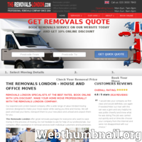 The Removals London professional and very reliable furniture transportation company in London. 