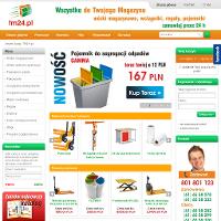 E-sklep tm24.pl z nowatorskimi rozwiązaniami dla magazynów jako jeden z nielicznych na rynku jest w stanie zaoferować klientom asortyment z domeny wyposażenie magazynu w cenach hurtowych. Proponujemy szeroki wybór wózków magazynowych: widlaki, paleciaki, wózki nożycowe oraz niejeden najwyższej klasy wózek elektryczny.