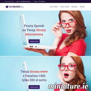 Wróbelek.eu to narzędzie, w którym możemy przekuć w czyn dla Ciebie profesjonalną stronę internetową szybko oraz w niezwykle atrakcyjnej cenie.  Każda wykonana przez nas www posiada własny własny panel zarządzania, inaczej panel zarządzania treścią, dzięki któremu nasz klient może w zwyczajny sposób zmieniać prawie wszystkie treści na swojej stronie.  Wróbelek.eu jest nowym, ciągle rozwijanym projektem, który daje ogromne możliwości w czasie budowy strony internetowej. Możemy zrealizować nie tylko prostą wizytówkę z kilkoma podstronami, ale również bardzo rozbudowaną stronę internetową z dużą liczbą zakładek i setkami podstron.  Każda wykonana strona www nie jest zamkniętym projektem, można ją w każdej chwili rozszerzyć o kolejne moduły / podstrony / zakładki. Wróbelek.eu jest wciąż rozwijany co oznacza, że w ofercie będą pojawiały się nowe moduły oraz nowe możliwości, które również będzie wolno wdrażać w istniejące już strony WWW.   Wróbelek.eu przeznaczony jest przede wszystk