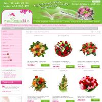 Pracująca 24h kwiaciarnia internetowa Wyslijkwiaty24.pl ze Szczecina pozwala w bezpieczny sposób nabyć każdego typu bukiet jak też wiązankę kwiatów. Sortyment kwiatów proponowanych w tej wysyłkowej kwiaciarni podzielony jest na kategorie jak ślub, urodziny czy rocznica. Dzięki temu kontrahent tej internetowej kwiaciarni będzie mógł bez problemu znaleźć bukiety jak też wiązanki kwiatów najbardziej mu pasujące. ./_thumb/www.wyslijkwiaty24.pl.png