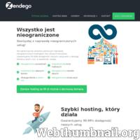 Nie ograniczaj się! Jesteśmy pierwszym naprawdę nieograniczonym hostingiem, bez ukrytych haczyków. Gwarantujemy 99,99% dostępność naszych usług wraz z obsługą klienta w dzień i noc, w weekendy i święta. Nieograniczony hosting www ZENDEGO.PL.  Skorzystaj z naprawdę nieograniczonych usług: - Darmowa domena k hostingu - Kazdy trzeci rok hostingu za darmo - Nieograniczona przestrzeń - Dowolna liczba kont mailowych - Dowolna liczba własnych domen - Nieograniczony transfer danych - Obsługa klienta w dzień i noc - Nieograniczona liczba wizyt - Gwarantujemy 99,99% dostępność - Codzienne kopie zapasowe danych  To wszystko tylko za 99 zł rocznie z VAT.