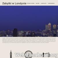 Strona internetowa www.zabytkilondyn.pl, w krótki i zwięzły sposób przedstawia informacje o stolicy Anglii, a także informacje o jego trzech najbardziej znanych i popularnych zabytkach jakimi są London Eye, Tower Bridge i Big Ben.