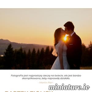 Jeden z najlepszych fotografów ślubnych w Rzeszowie i okolicach. Profesjonalna obsługa, świetna atmosfera oraz łatwe nawiązywanie kontaktów – to wszystko może zapewnić Bartek Ziomek.  Uchwyci on to co dla Ciebie jest najważniejsze – zatrzymajcie razem najlepsze chwile.   ./_thumb1/bartekziomek.pl.png