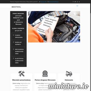 Pomoc Drogowa i Warsztat Samochodowy BESTHOL to kompleksowa pomoc przy awariach aut. Wykonujemy naprawy samochodów z dojazdem do Klienta oraz na stacjonarnym warsztacie samochodowym. Oferujemy także Pomoc Drogową i Holowanie samochodów.  Jesteśmy w stanie wykonać naprawy samochodów w dowolnym miejscu  na terenie Warszawy za pomocą tzw. mobilnego serwisu. Świadczymy pomoc z zakresu mechaniki samochodowej i elektryki samochodowej. Dysponujemy również stacjonarnym warsztatem samochodowym.  Mobilny warsztat samochodowy to: dojazd mechanika lub elektryka samochodowego do Klienta na miejsce awarie samochodu, diagnostyka awarii i naprawa samochodu od ręki.