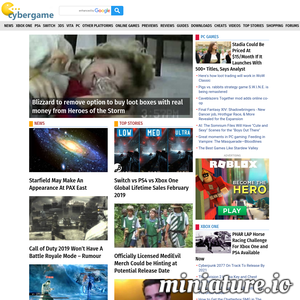 Video Games world. News about PC, Playsation, XBox, mobile games and more.
