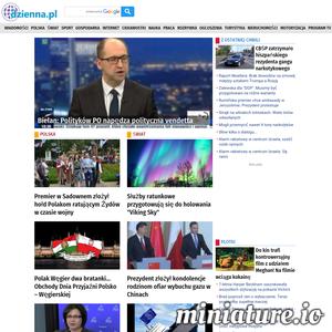Agregator informacji z kraju. Dzienna dawka informacji. Wiadomości gospodarcze,polityka, sport, nauka i ciekawostki. Dzienna.pl i wszystko już wiesz.