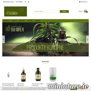 Eko-nopie.pl - ekologiczny sklep z szerokim asortymentem produktów konopnych ./_thumb1/eko-nopie.pl.png