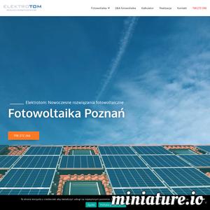 Kompleksowa instalacja paneli fotowoltaicznych w domu, przedsiębiorstwie lub gospodarstwie rolnym. Fachowe doradztwo. Panele słoneczne Poznań