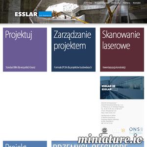 Biuro projektowe konstrukcji stalowych i żelbetowych z Warszawy.